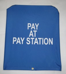 Parking Meters Pay Station Covers Special Events